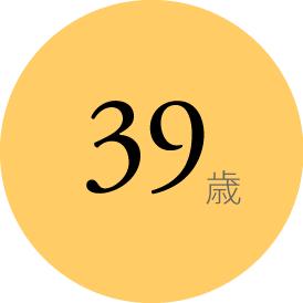 シンコー社員の平均年齢は38歳